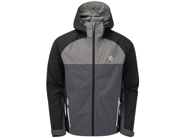Dare 2b Aline II Veste Homme, ebony grey/black/aluminium grey